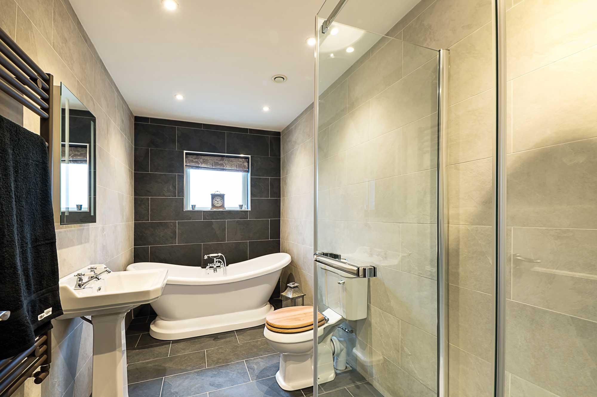 Inglenook Wood Bathroom
