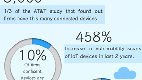 Infographic on the Security of the Internet of Things