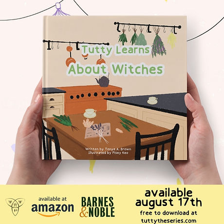 Tutty Learns About Witches