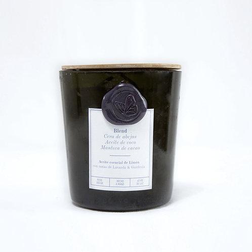 Limón Lavanda & Gardenia - CHAMPAGNE - Pabilos de algodón
