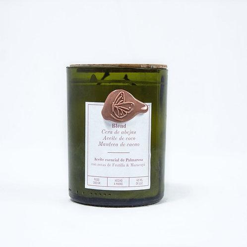 Palmarosa Frutilla & Maracuyá - Grande - Pabilo de hilo de algodón