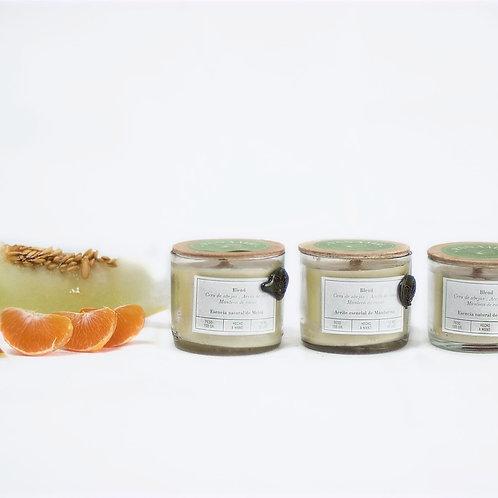 Set Mini velas de Mandarina Melón & Mango