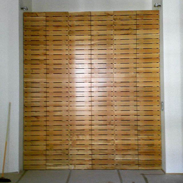 Built in Oak Wardrobe (4,5m)