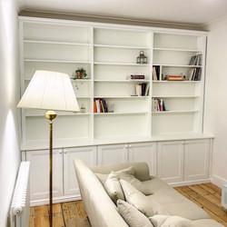 Living Room Book Shelf