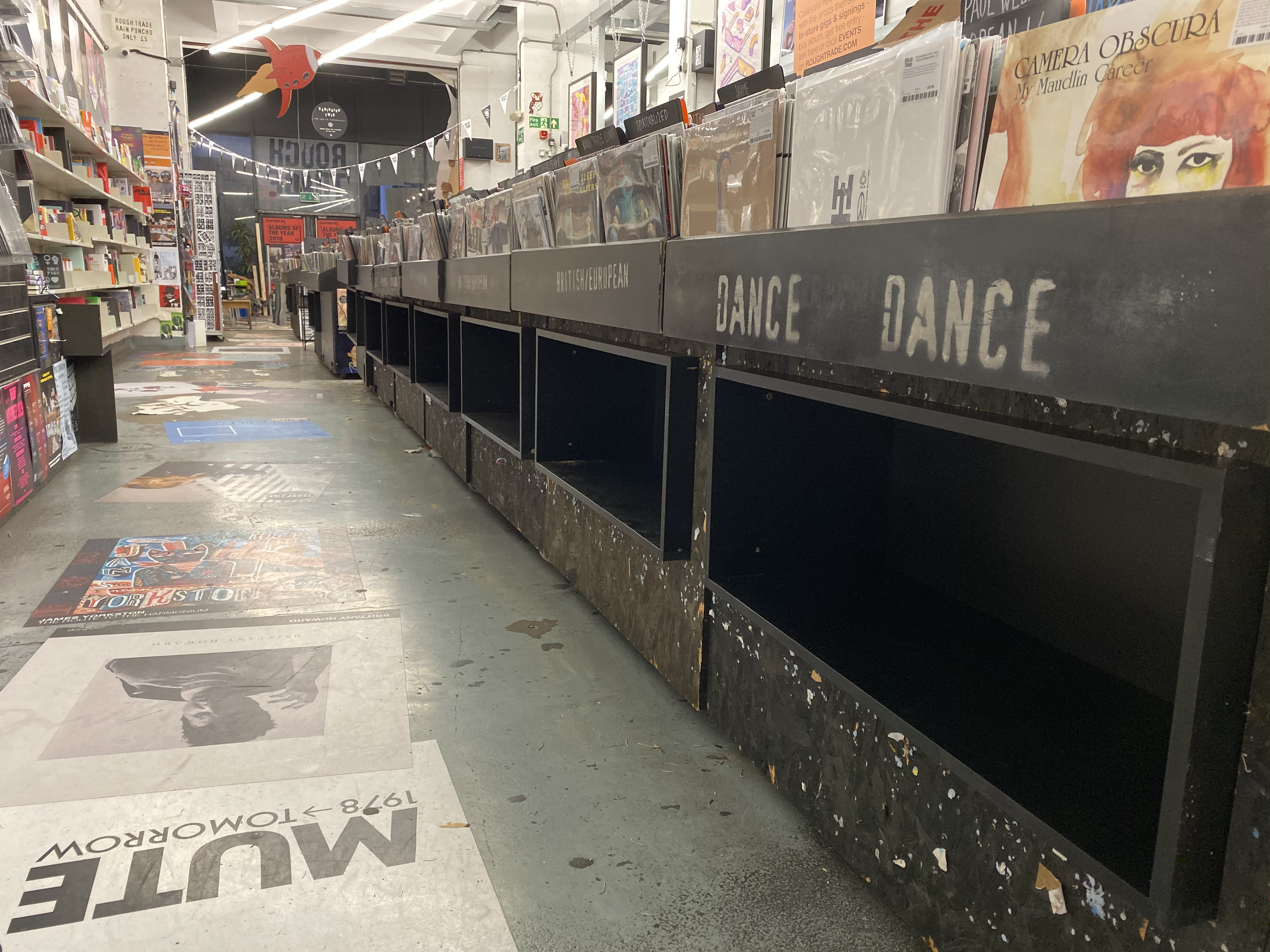 Rough Trade East Vinyl Rack