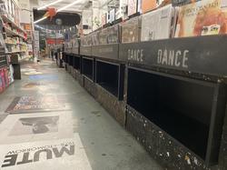 Rough Trade East Vinyl Rack