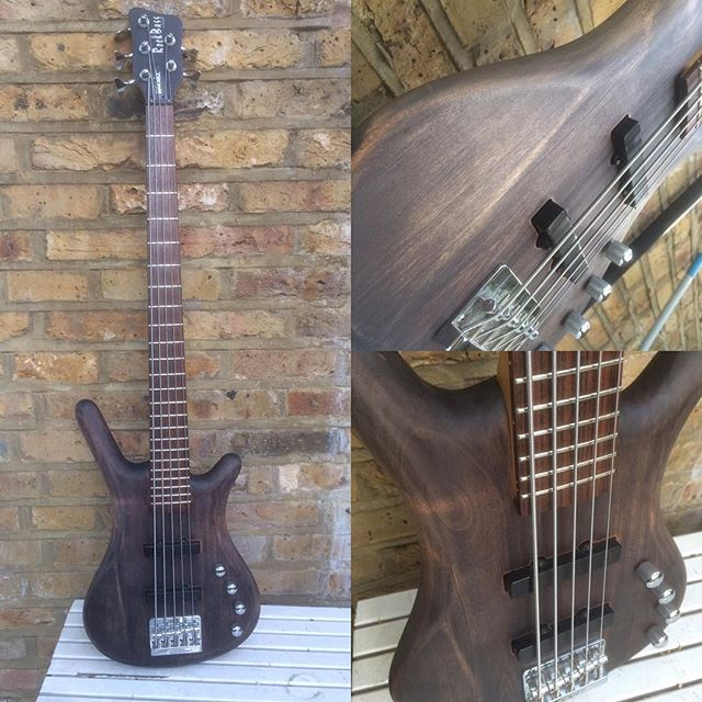 Restored And Refinished Warwick Corvette