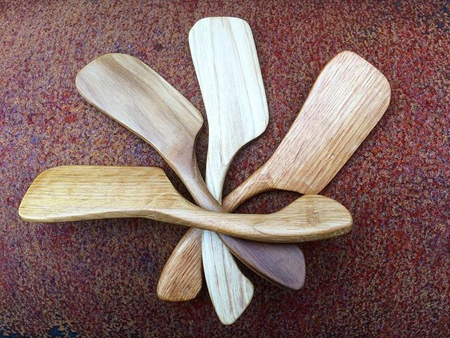 Hand Carved Butter Knifes