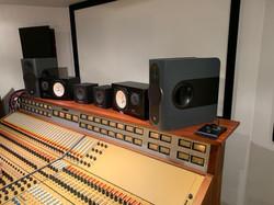 Stroongroom Oak Mixing desk shelf