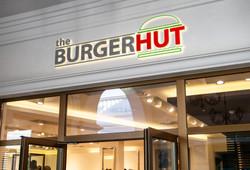 The Burger Hut logo