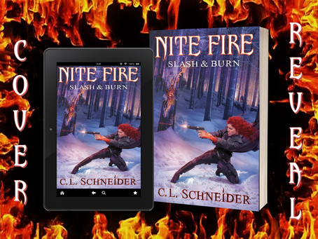 Cover Reveal: Slash & Burn, Nite Fire Book 4