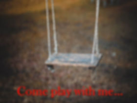 An empy playground swing