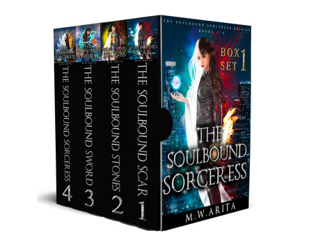Indie Book Spotlight: The Soulbound Sorceress Boxset, by M. W. Arita