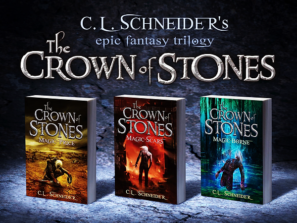 CL Schneider - The Crown of Stones Trilo