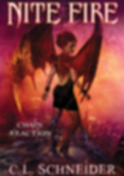 Nite Fire: Chain Reaction, by fantasy author, C. L. Schneder