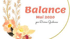Balance_Mai 2020_Horoscope_Tirage_Divine