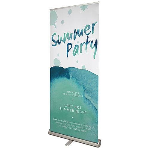 ISP gepersonaliseerde roll-up banner