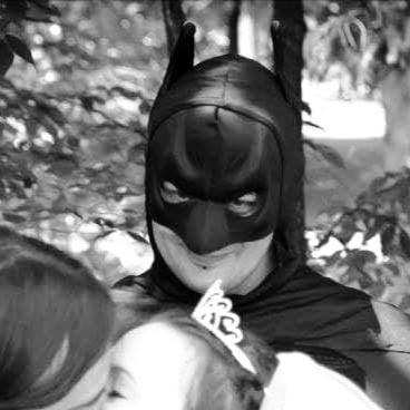 Bat man minister officiant wedding bat-man