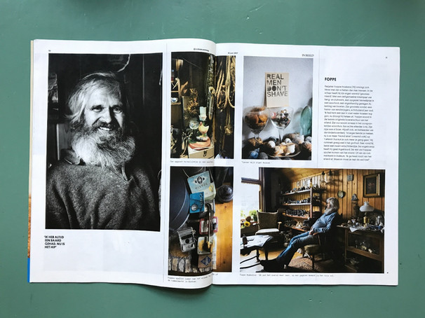 Foppe Hoekstra in Volkskrant Magazine