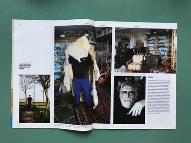 Clive Hellinga in Volkskrant Magazine