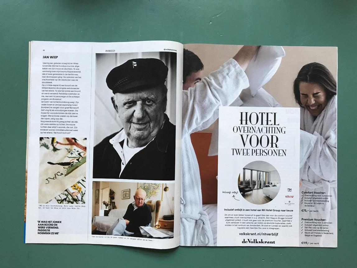 Jan Wiep Groendijk in Volkskrant Magazine