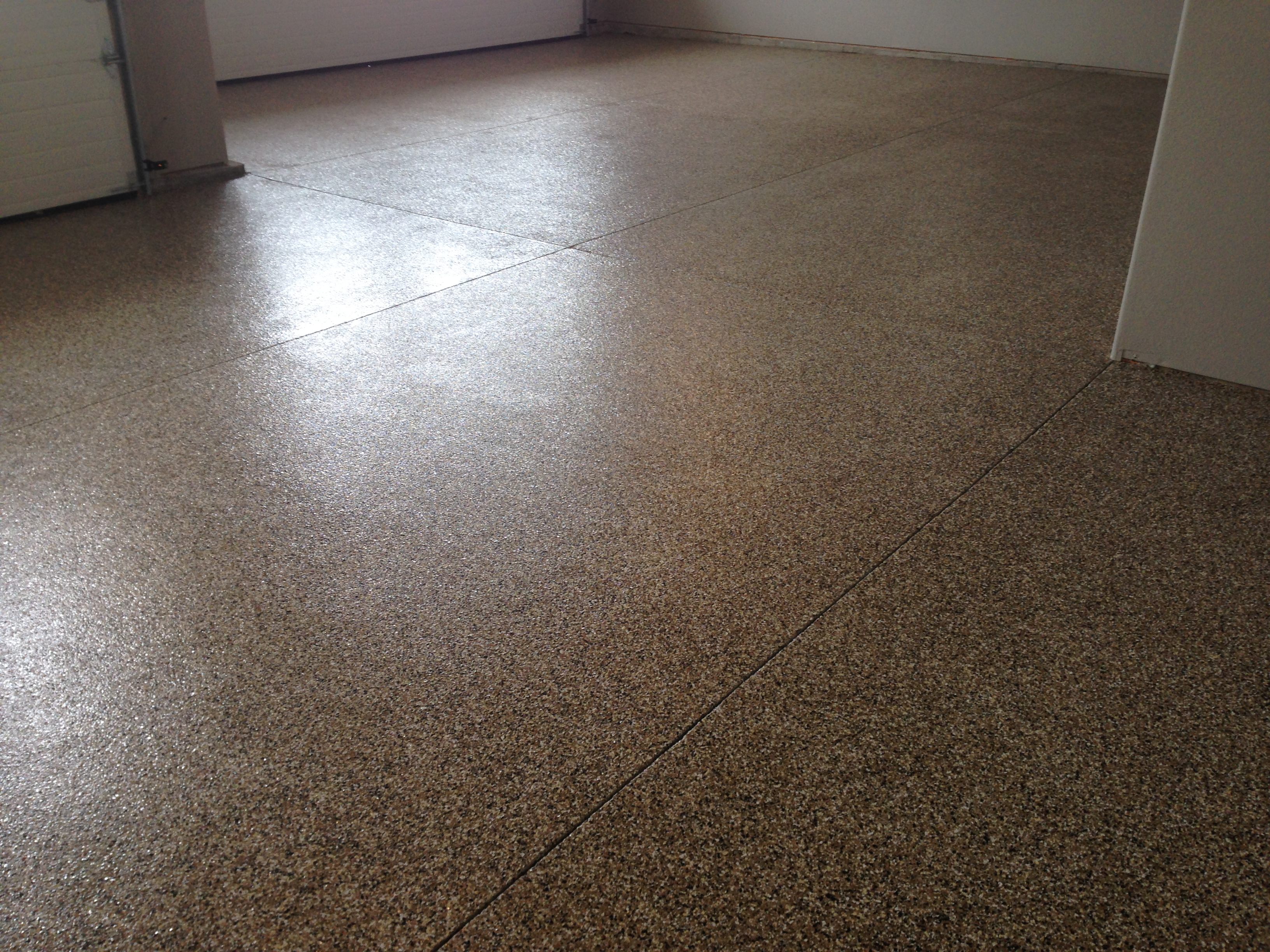 Denver epoxy coating garage floor