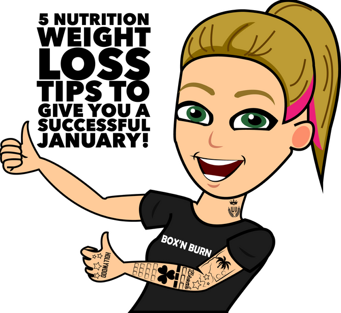 Nutrition Tips to Kickstart your 2019 Fat Loss
