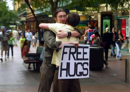 Ti mando un abbraccio (in delivery)