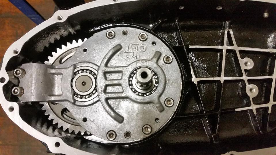 Assembled Gearbox