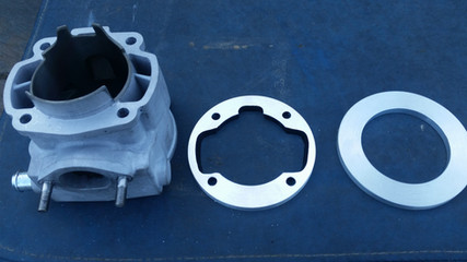 Cylinder and Base Plate
