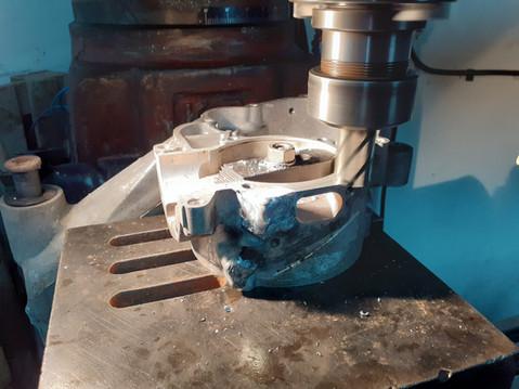 Inlet Machining