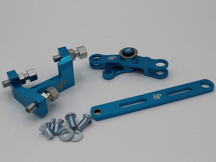 Lambretta Anodised CNC 6061 Alloy Gear Linkage Set