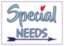Special Needs Logo - Navy - with outline