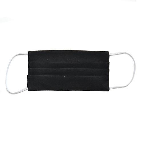 Masque de protection en tissu, réutilisable, modèle Basic Noir