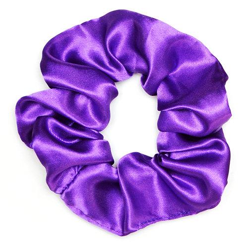 Chouchou satin, violet