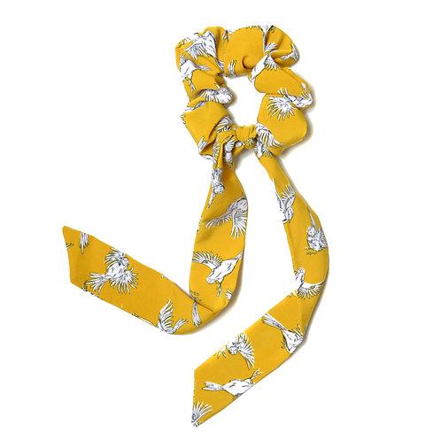 Chouchou ruban Fly, jaune