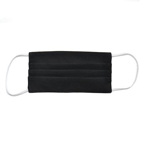 Homme - Masque de protection en tissu, réutilisable, modèle Basique noir