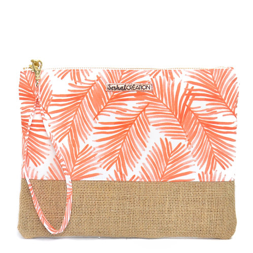 Pochette dragonne Palm Beach
