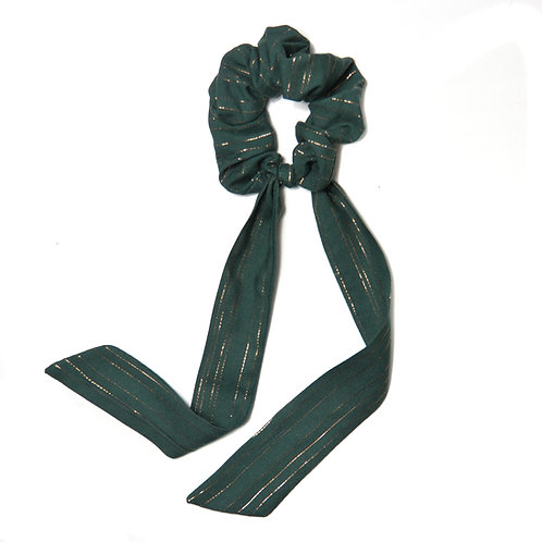 Chouchou ruban Mint