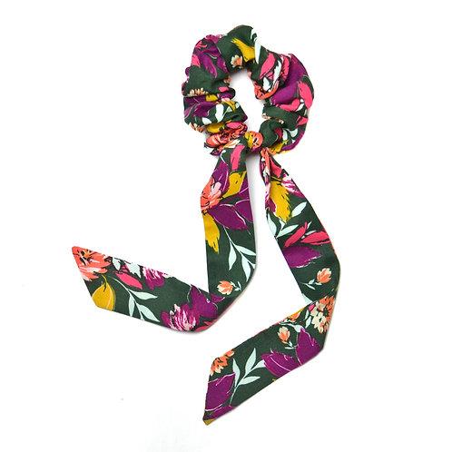 Chouchou ruban Floraison