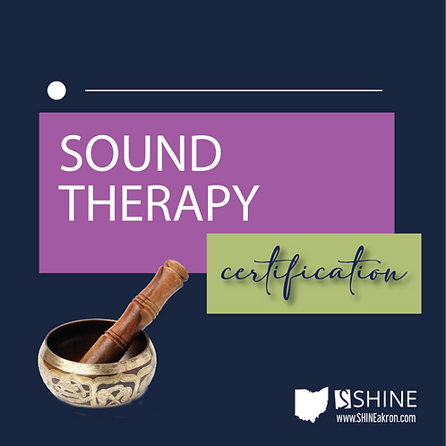 Sound Therapy Certification