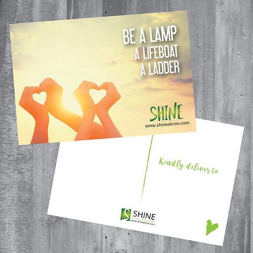 SHINE Gratitude Postcards
