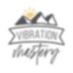 vibration mastery logo 1x1 white backgro