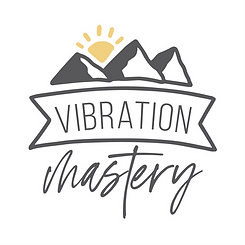 vibration mastery logo 1x1 white backgro