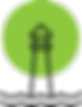 Lighthouse icon only transparent backgro