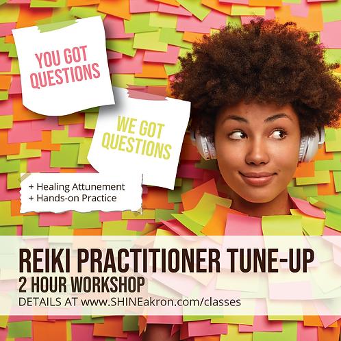 Reiki Practitioner Tune-Up Workshop
