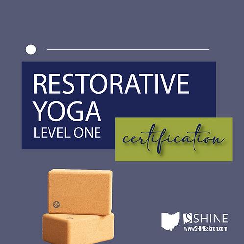 Restorative Yoga Level One Certification