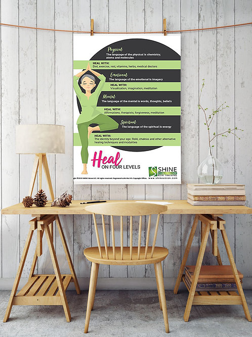 Heal on Four Levels Poster