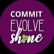 commit, evolve, shine circle.png