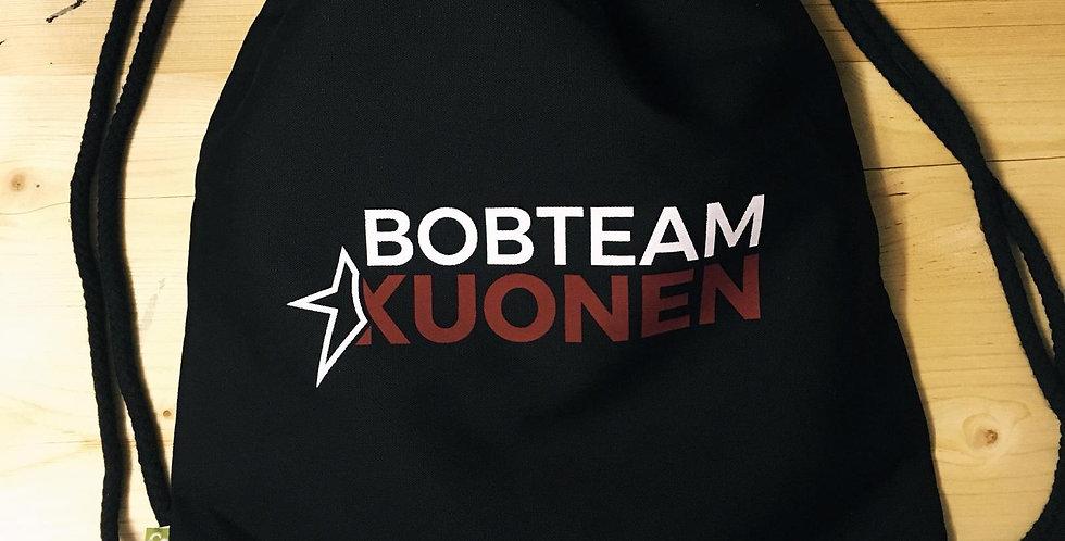 """Jutebeutel """"Bobteam Kuonen"""""""